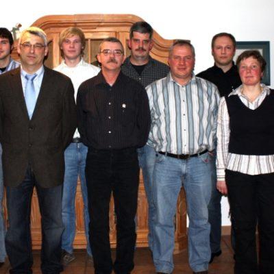 JHV 2009 Vorstand